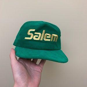 Vintage 90s Salem Corduroy SnapBack